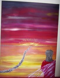 Weg, Malerei