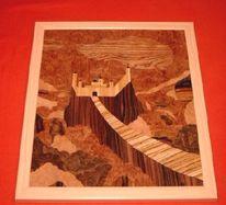 Holz, Kunsthandwerk, Festung