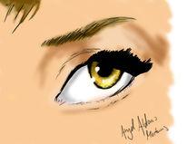 Digital, Linse, Augen, Gesicht