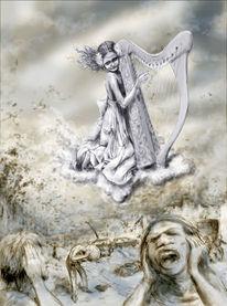 Apokalypse, Deutschland, Digitale kunst,