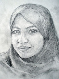 2014, Portrait, Deutschland, Zeichnungen