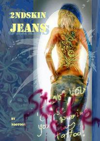 Jeans, Gegenwartskunst, Stalker, Liebhaber