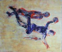 Dynamik, Bewegung, Handball, Sport