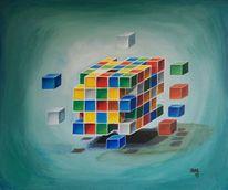 Grafik, Zeitgenössische malerei, Architektur, Abstrakt