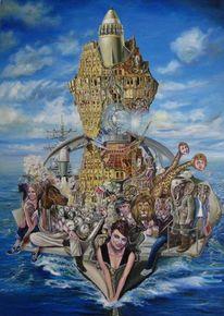Surreal, Noah, Expressionismus, Apokalypse