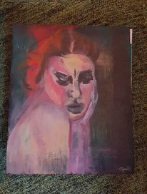 Malerei, Acrylmalerei, Stille, Sehnsucht