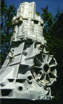 Aluminium, Audigetriebe, Fantastische architektur, Getriebeburg