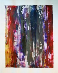 Farben, Gemälde, Struktur, Spachtel