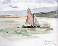 Baltimore segler, Malerei, Hafen