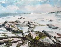 Irland, Gorteen, Strand, Roundstone