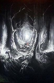 Licht, Kinder, Dunkel, Fantasiewesen