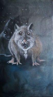 Rattenkönig, Dunkel, Mystik, Ratte