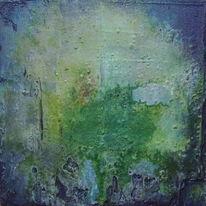 Grün, Marmormehl, Blau, Beize