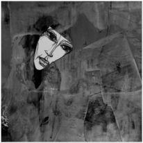 Zeichnung, Malerei, Collage, Mischtechnik