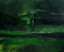 Schatten, Grün, Nacht, Dunkel