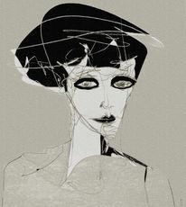 Ausdruck, Gesicht, Surreal, Nachtschatten
