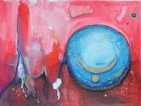 Fantasie, Acrylmalerei, Kreis, Malerei