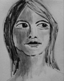 Zeichnungen, Nachdenklich