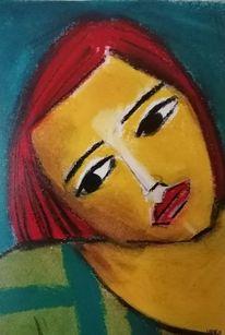 Rot, Schwarz, Gelb, Malerei