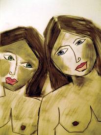 Zeichnungen, Schwestern