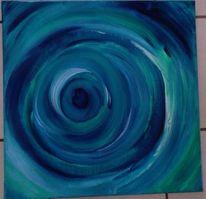 Blau, Kreis, Malerei, Unendlichkeit