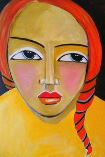 Rot, Gelb, Schwarz, Malerei