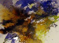 Landschaft, Aquarellmalerei, Skizze, Aquarell