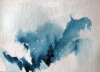 Aquarellmalerei, Nass, Skizze, Schicht