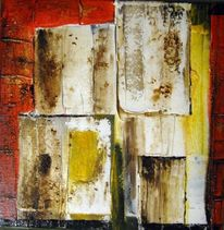 Malerei, Stadt, Fenster