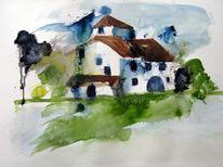 Malerei, Bergen