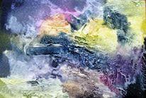 Nass, Aquarellmalerei, Abstrakt, Aquarell