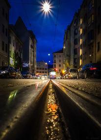 Straßenbahn, Digital, München, Fotografie