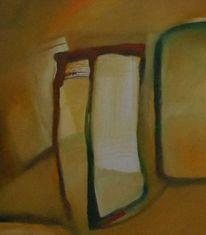Ölmalerei, Abstrakter expressionismus, Malerei