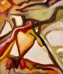 Abstrakter expressionismus, Malerei, Herz