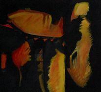 Ölmalerei, Himmel, Abstrakter expressionismus, Wahnsinn
