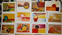 Installation, Kugel, Impressionismus, Disponibil