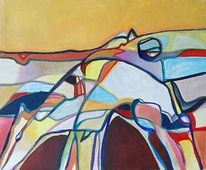 Figural, Expressionismus, Abstrakt, Malerei