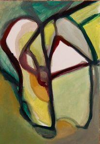 Abstrakter expressionismus, Malerei, Stille