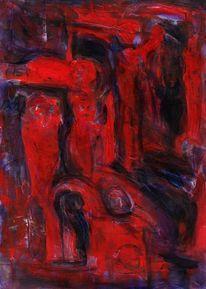 Rot, Nonsens, Traum, Malerei
