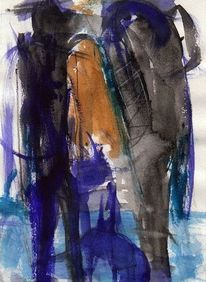 Surreal, Kalt, Blau, Nacht
