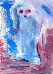 Abstrakt, Blau, Kalt, Surreal