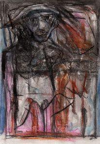Surreal, Abstrakt, Figural, Zeichnungen