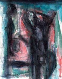 Nacht, Abstrakt, Surreal, Figural