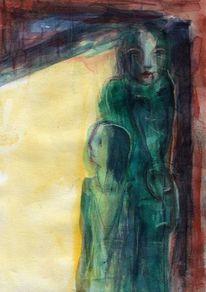 Gelb, Grün, Surreal, Abstrakt