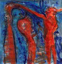 Rot, Psyche, Blau, Wahn