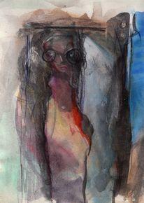 Abstrakt, Figural, Surreal, Malerei