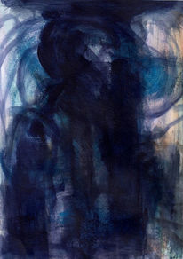 Surreal, Abstrakt, Figural, Nacht