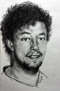 Viktringer künstlerkreis, Selbstportrait, Gesicht, Kopf