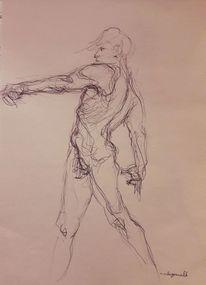 Energie, Bewegung, Linie, Zeichnungen