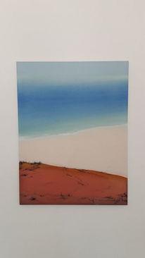 Strand, Hang, Meer, Malerei